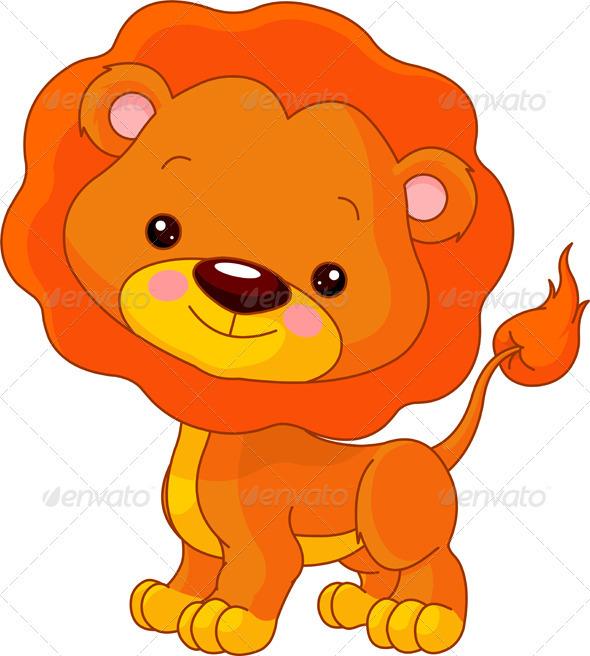 Fun zoo. Lion - Animals Characters