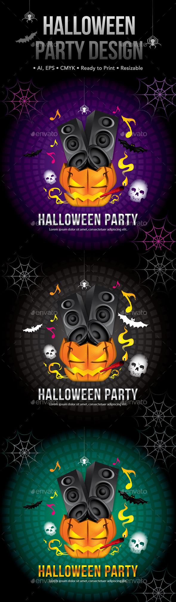 Halloween Party Design - Halloween Seasons/Holidays