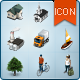 Map Icons and Elements - V.1 - GraphicRiver Item for Sale
