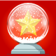 Crystal Christmas ball - GraphicRiver Item for Sale