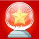 Crystal Christmas ball - GraphicRiver Item for Sale