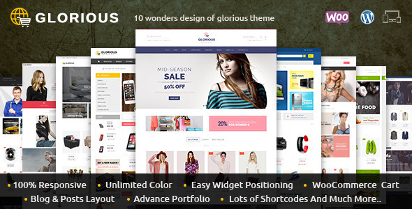 Glorious - WooCommerce Responsive Theme