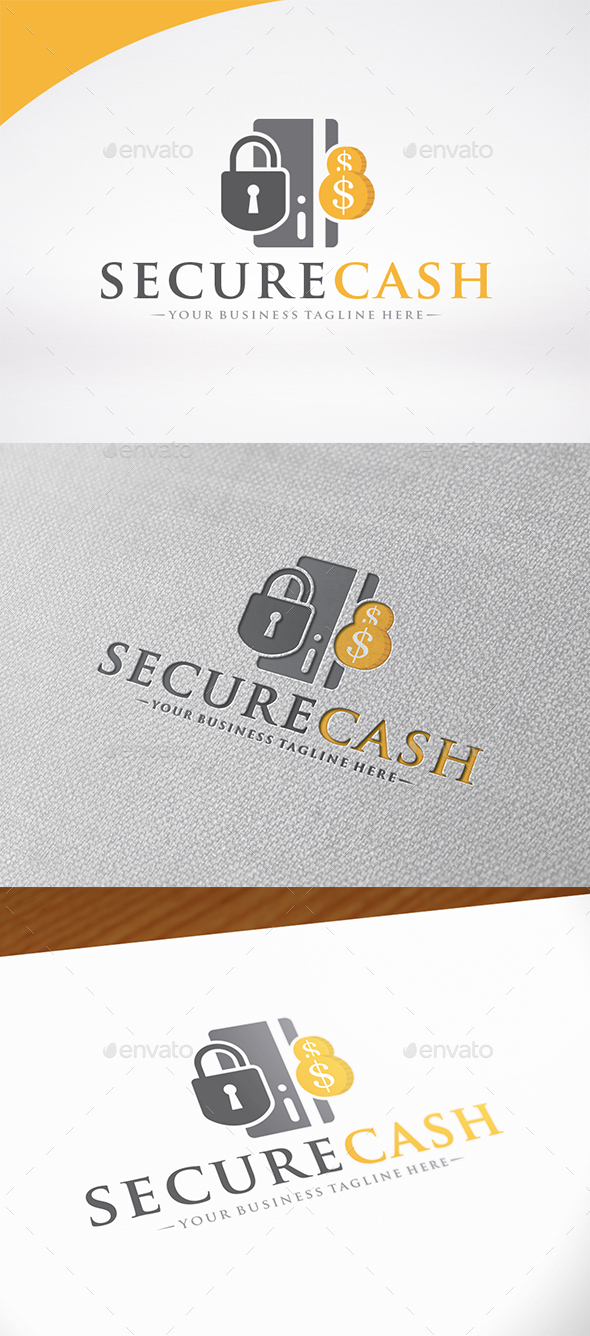 Secure Cash Logo Template - Symbols Logo Templates