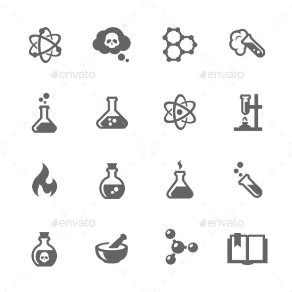 Chemical Icons - Icons