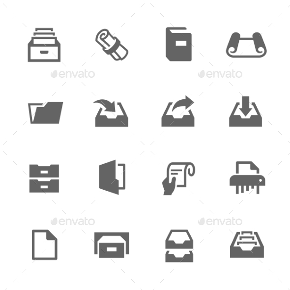 Document Icons - Objects Icons