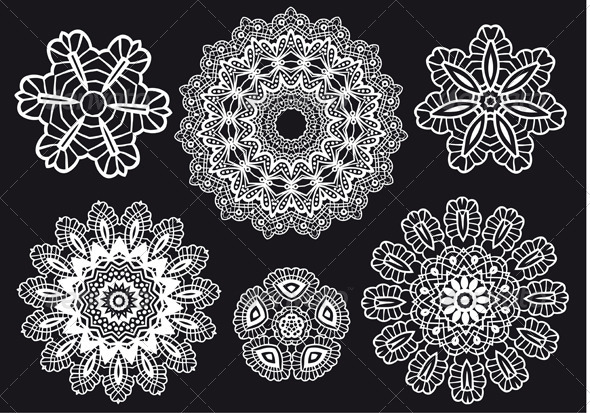 Lace Pattern - Patterns Decorative