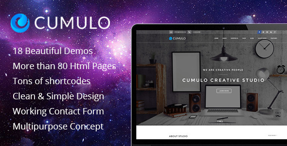 Cumulo - Multipurpose HTML Theme - Creative Site Templates