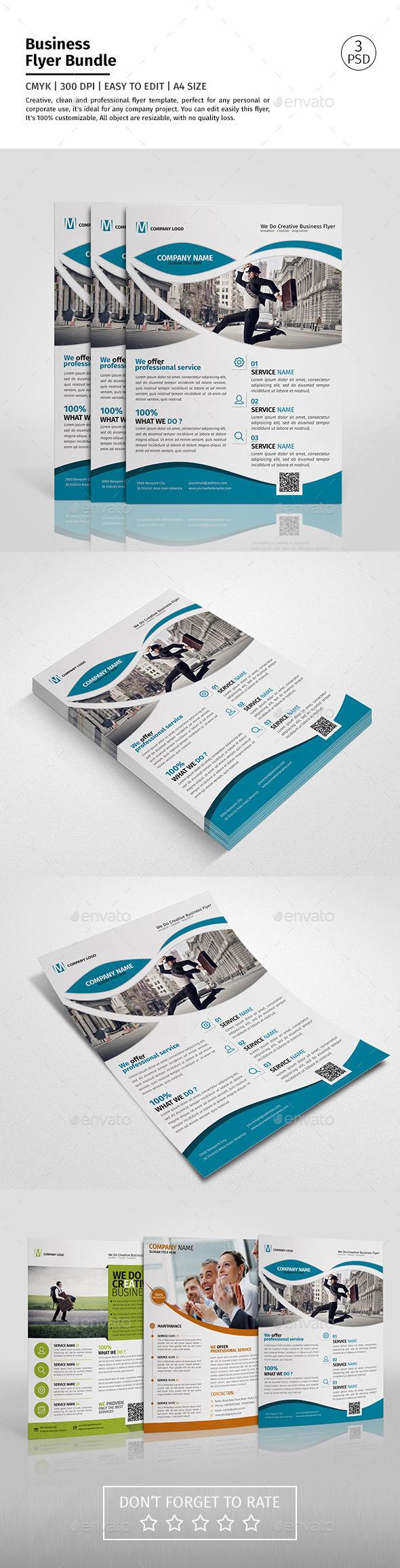 Corporate Flyer Bundle 01 - Corporate Flyers