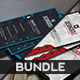 Bundle - Red Blue Business Cards - GraphicRiver Item for Sale