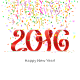 Christmas Confetti and 2016 - GraphicRiver Item for Sale