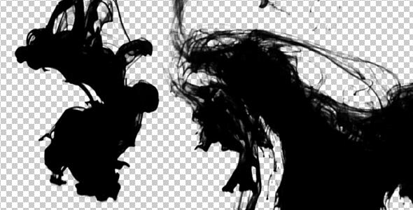 Ink Flowing in Water - Extended Video 1