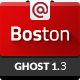 Boston - Corporate Parallax GHOST Template