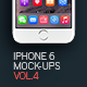 Iphone 6 Mockup V.4 - GraphicRiver Item for Sale