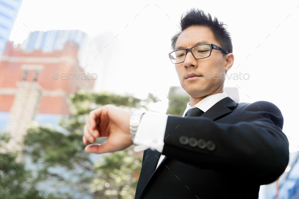 I need to be in time - Stock Photo - Images
