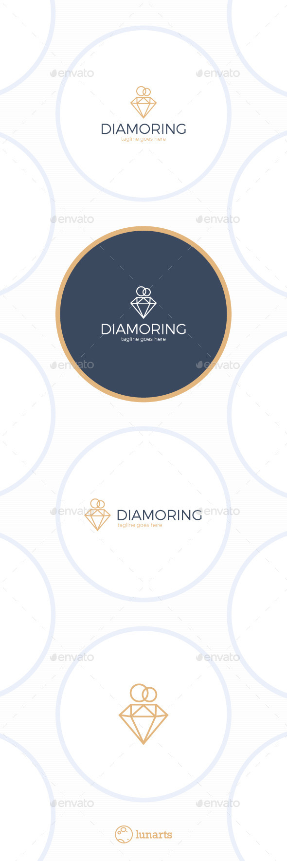 Diamond Ring Logo - Wedding Jewelry - Symbols Logo Templates