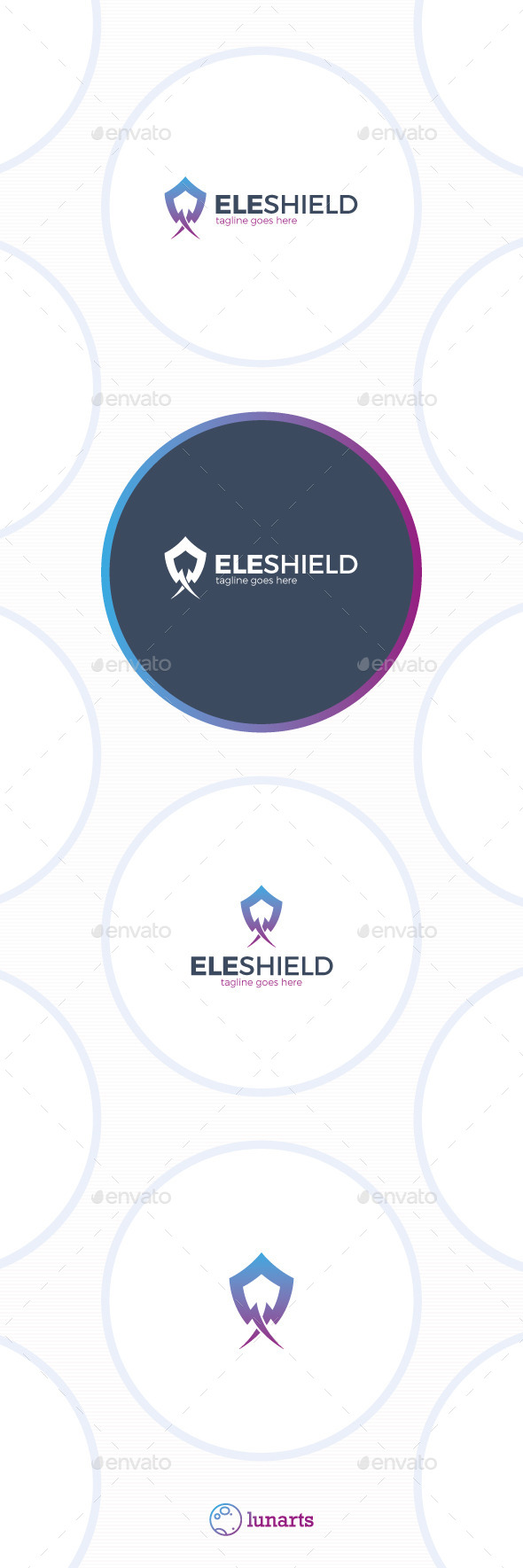 Electro Shield Logo - Abstract Logo Templates