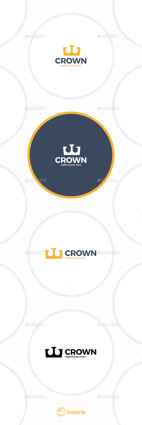 Tower Crown Logo - Symbols Logo Templates