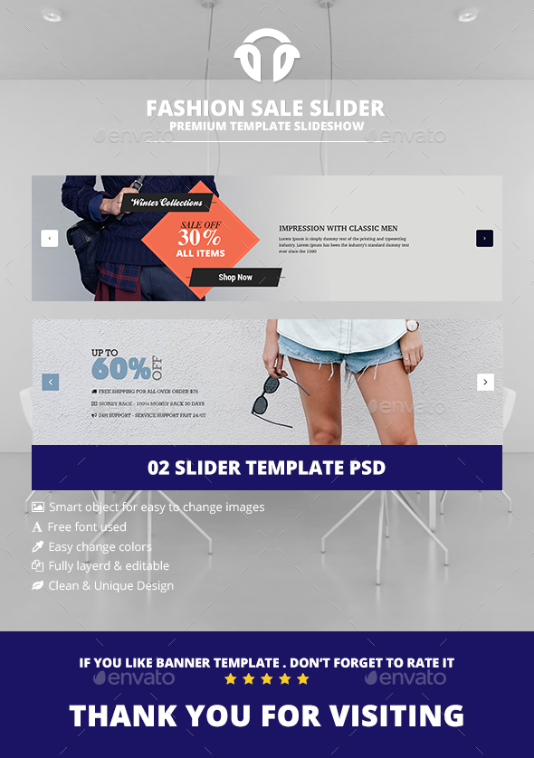 Shopping Sliders  - Sliders & Features Web Elements