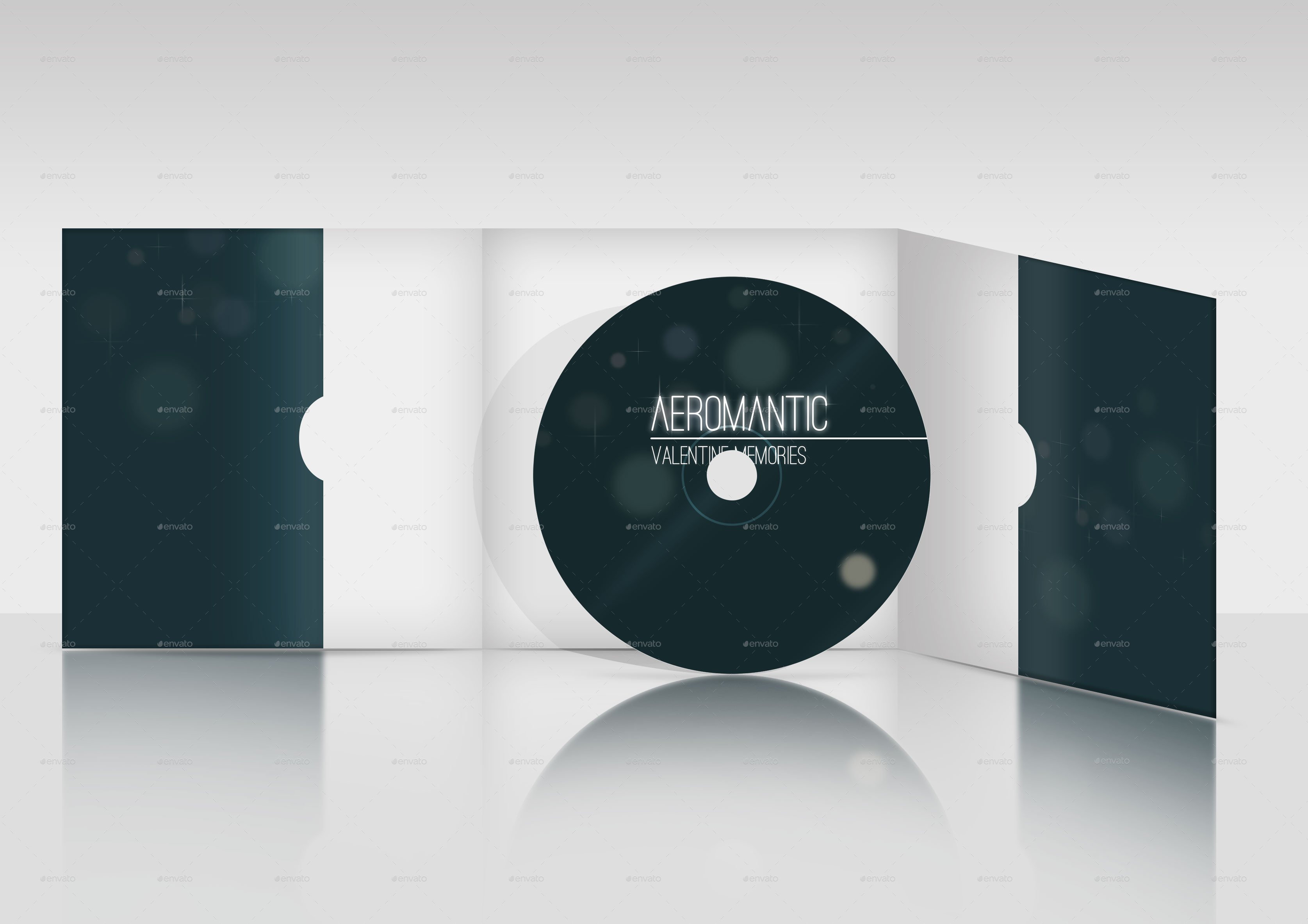 cd    dvd cover and case mockup by mousekeyboard