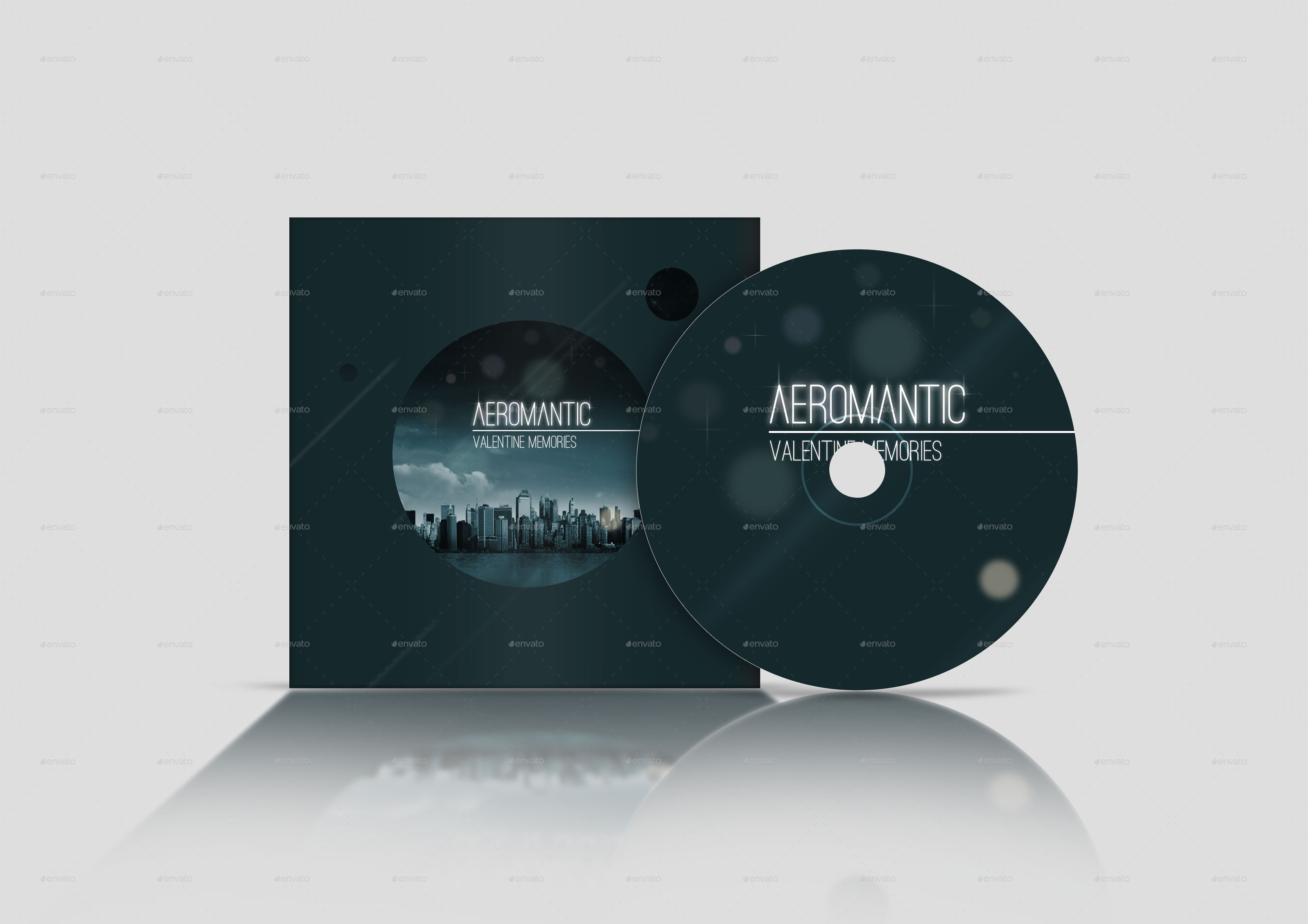 Cd Dvd Cover And Case Mockup By Mousekeyboard Graphicriver