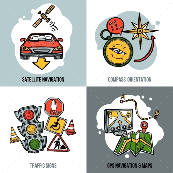 Navigation Concept Set - Communications Technology