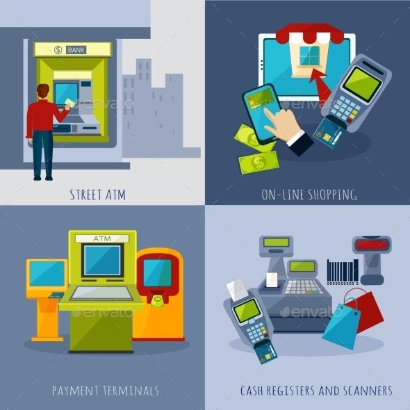 ATM Payment Set - Computers Technology