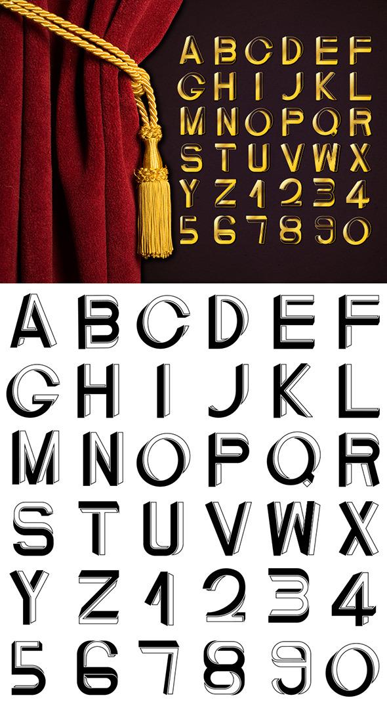 Art Deco Impossible Font - Decorative Fonts