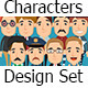 Characters Design Pack - GraphicRiver Item for Sale
