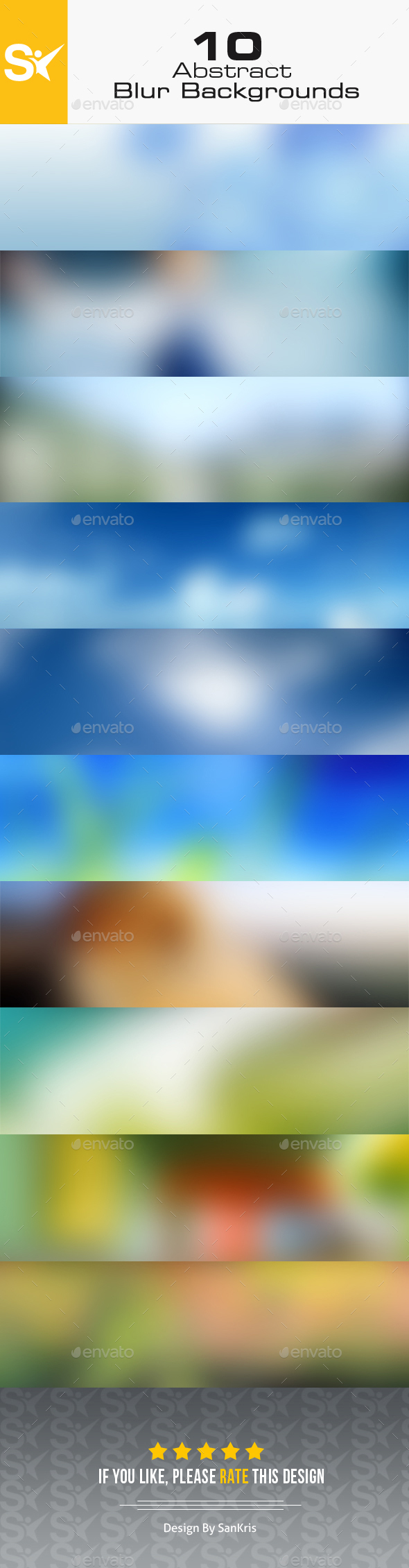 10 Blur Backgrounds Vol.2 - Abstract Backgrounds