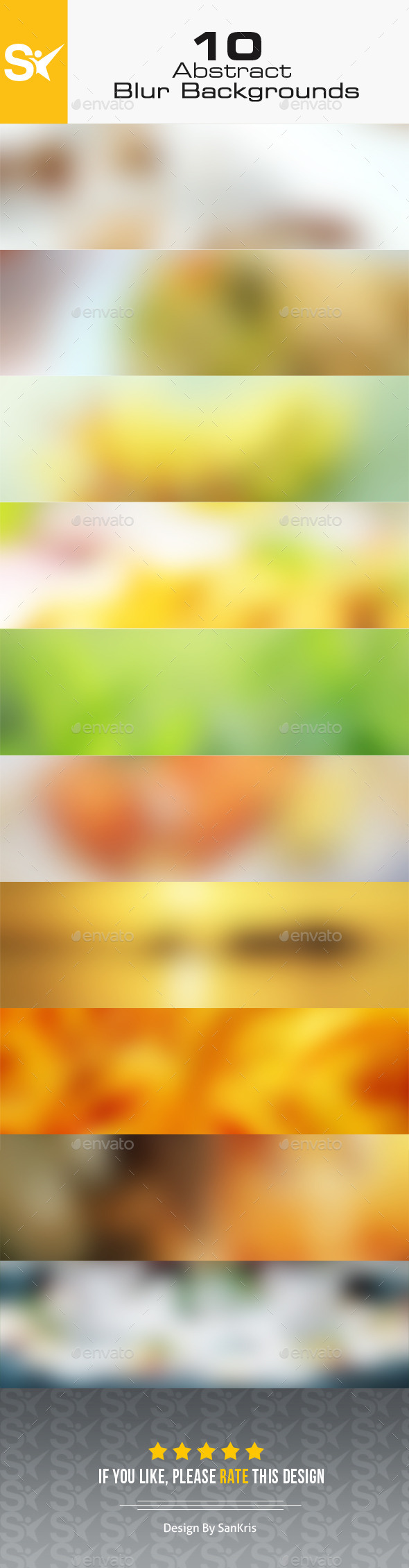 10 Blur Backgrounds Vol.3 - Abstract Backgrounds