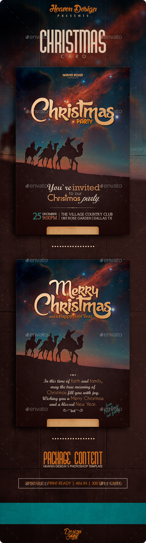 Christmas | Card - Holiday Greeting Cards