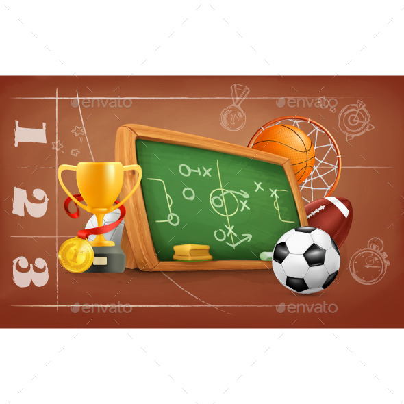 School, Game and Strategy - Miscellaneous Vectors