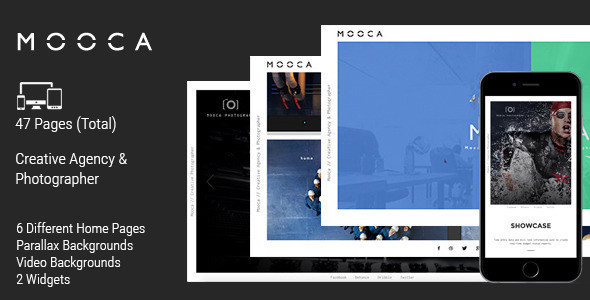 Mooca // Creative Agency Muse Template - Creative Muse Templates