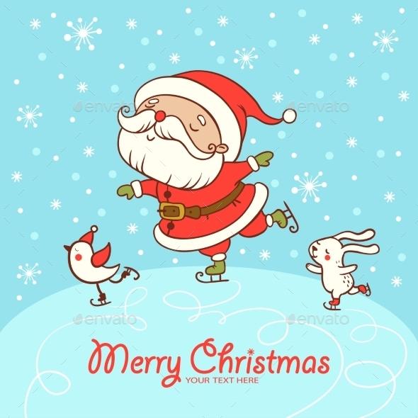Christmas Card With Textbox. - Christmas Seasons/Holidays