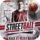 Streetball Flyer Template - GraphicRiver Item for Sale
