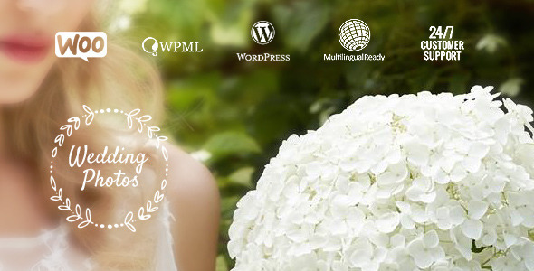 Wedding Photos – WordPress Theme