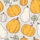 Hand Drawn Halloween Seamless Pattern - GraphicRiver Item for Sale
