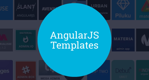 20+ AngularJS Admin Templates