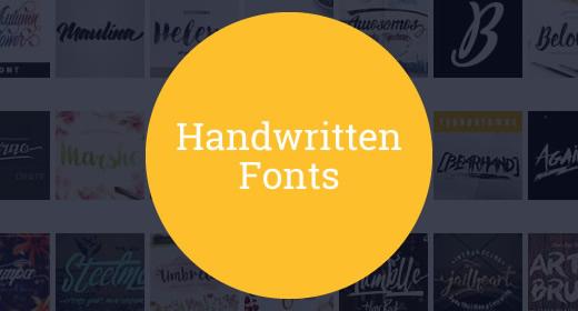 20 Handwritten Fonts