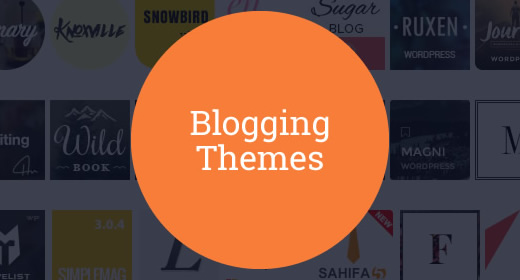 20 Blogging Themes