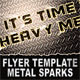 Metal Sparks Flyer Template - GraphicRiver Item for Sale