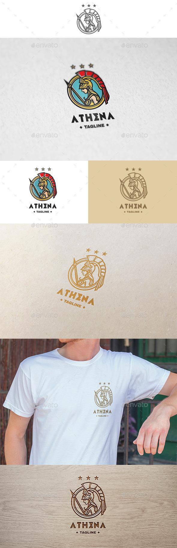 Athena Logo - Humans Logo Templates