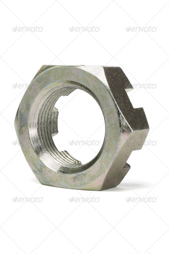 Metal Nut - Stock Photo - Images