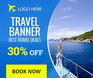 Travel Promotion Banners Lofi Banners
