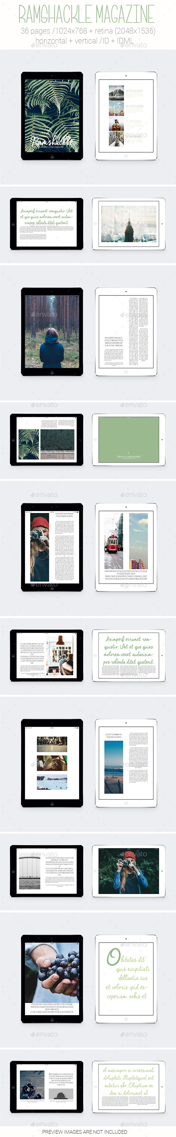 Tablet&iPad Ramshackle Magazine - Digital Magazines ePublishing