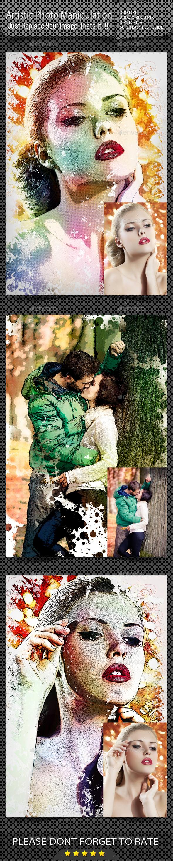Artistic Photo Manuplation - Artistic Photo Templates