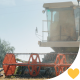 Combine Harvester in Action - VideoHive Item for Sale