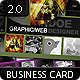 Portfolio Business Card 2.0 - GraphicRiver Item for Sale