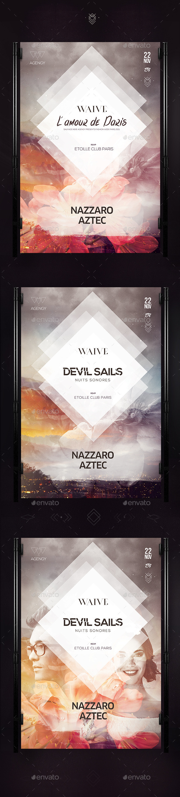 Devil Sails Poster - Clubs & Parties Events