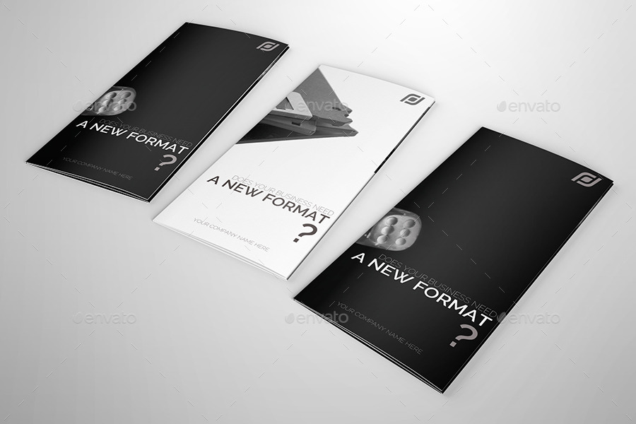 Creative Trifold Brochure Template By Petumdesign Graphicriver